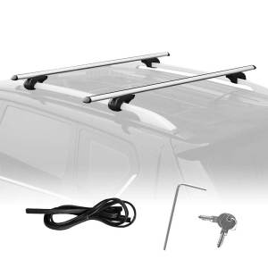 Summates Universal Roof Top Cargo Rack Cross Bars-1Pair