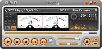 Auch nicht schlecht: AIMP2 im Retro-Stil