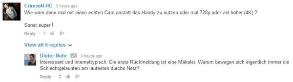 Dieter Nuhr auf YouTube