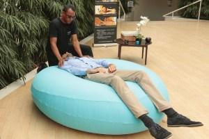 Massage en apesanteur