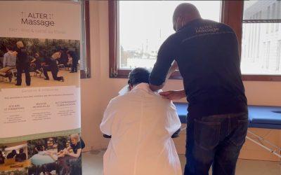 Avec AlterMassage, offrez des massages à des soignants