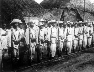 Filipino freedom fighters during the Filipino-American War (Photo by Taga-Ilog News)