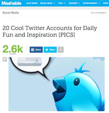 as seen on mashable