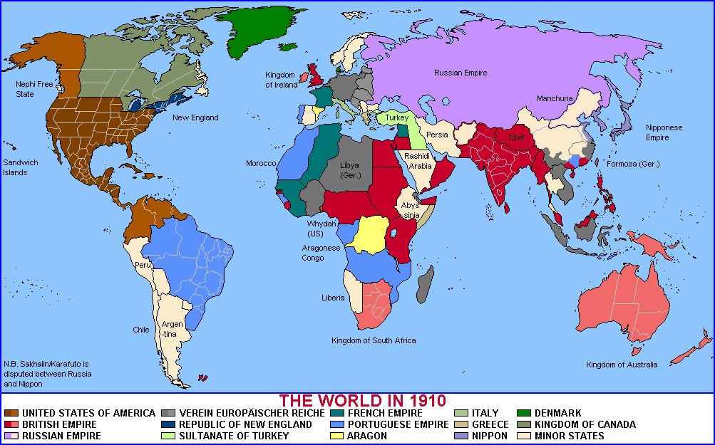 Alternate History Maps Of British America