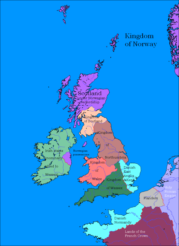 Map Of England 9th Century.20 1525 Map Of England Scotland France Pictures And Ideas On Meta