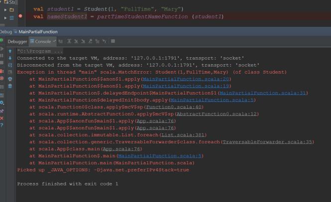 Scala Match Error