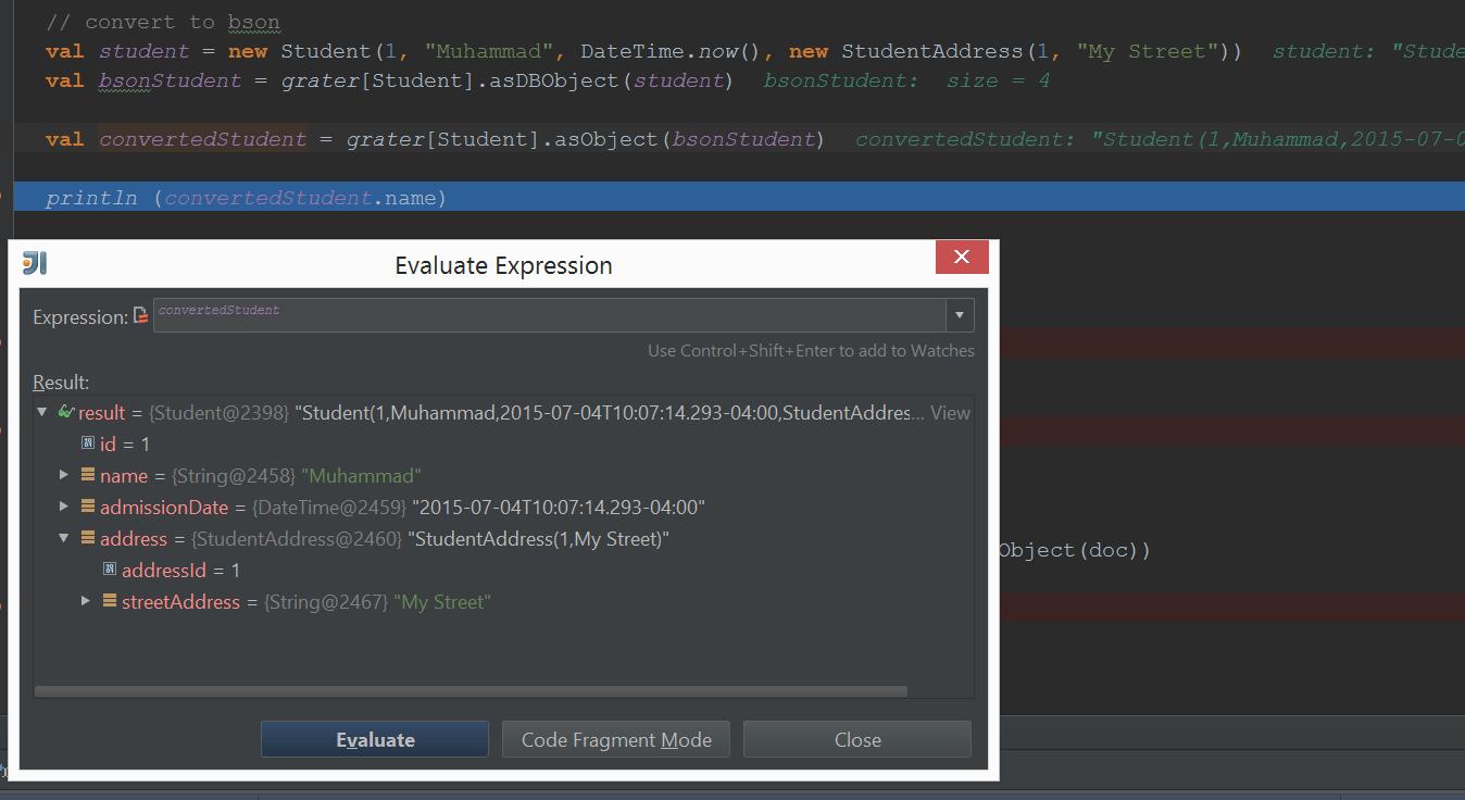 Serializing Custom Types for MongoDB using Salat – Alternate