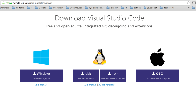 VSCode download