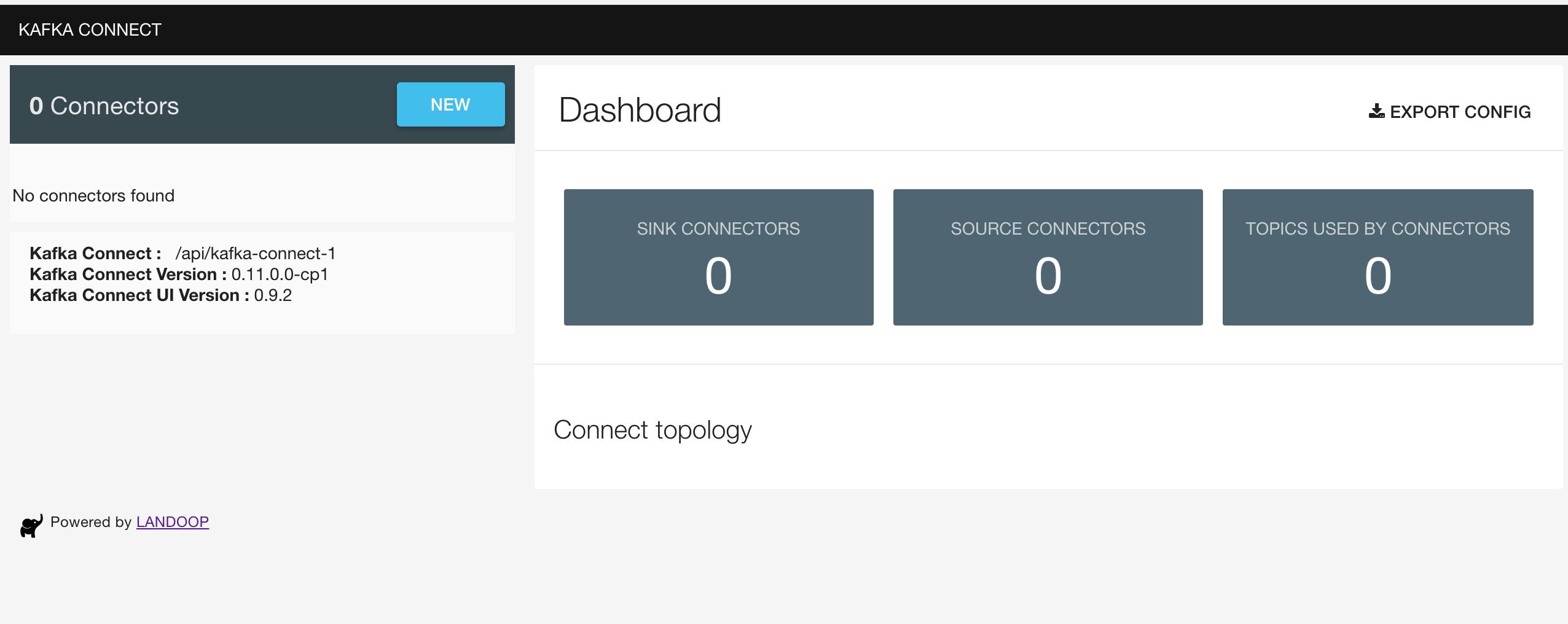 Setting up Landoop's Kafka-Connect-ui on Mac – Alternate Stack