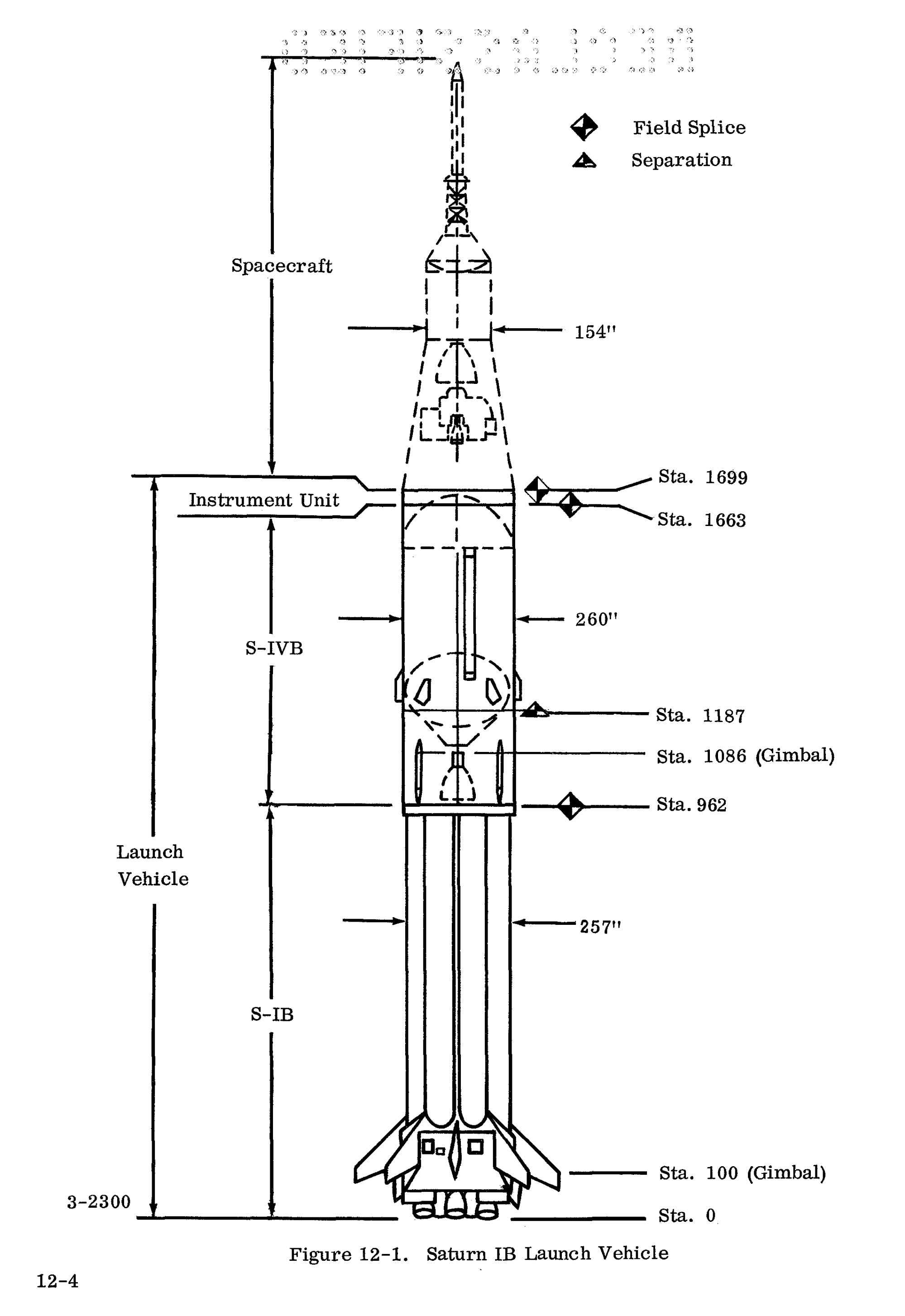 hight resolution of saturn ib arrangement diagram 1964