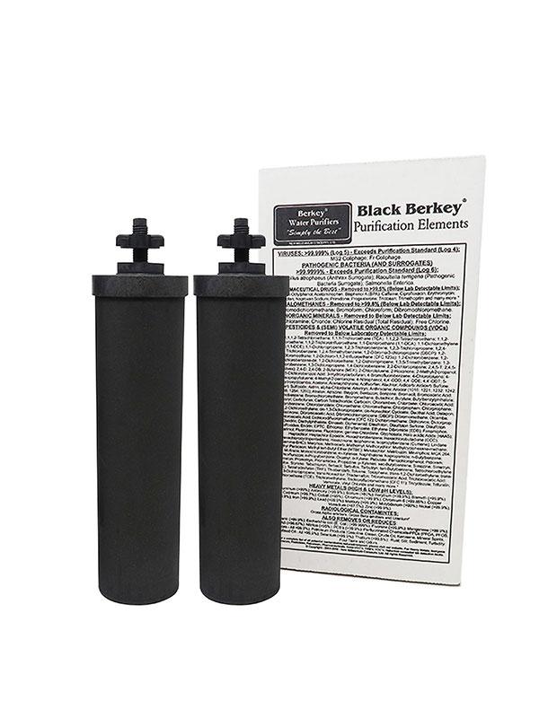 Black Berkey elementen