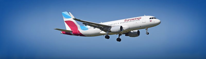 Eurowings  Book Our Flights Online  Save  LowFares Offers  More