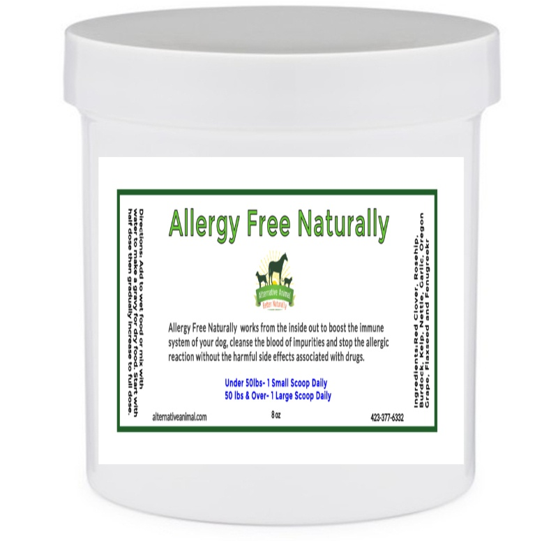 Allergy Free Naturally-Dog Allergies