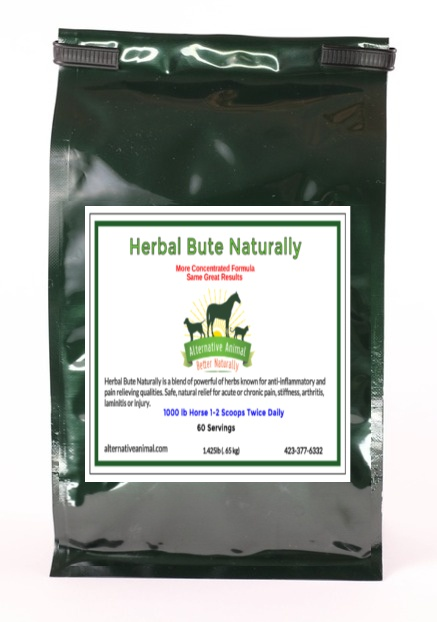 Herbal Bute Naturally-Bute Alternative for Horses