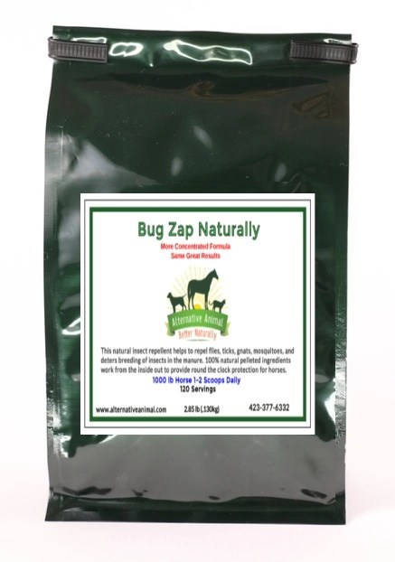 Bug Zap Naturally Garlic for Horses