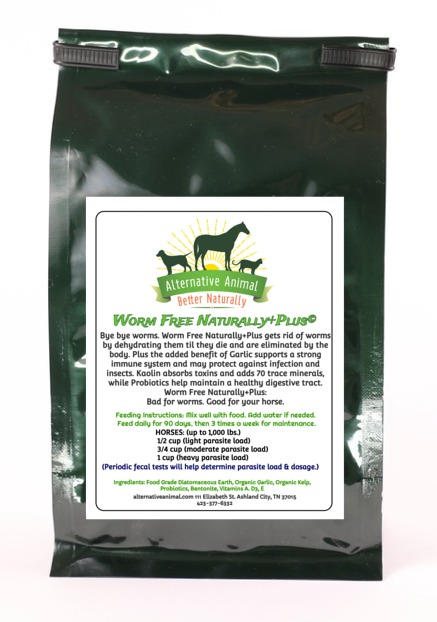 Worm Free Naturally Plus-Natural Dewormer for Horses