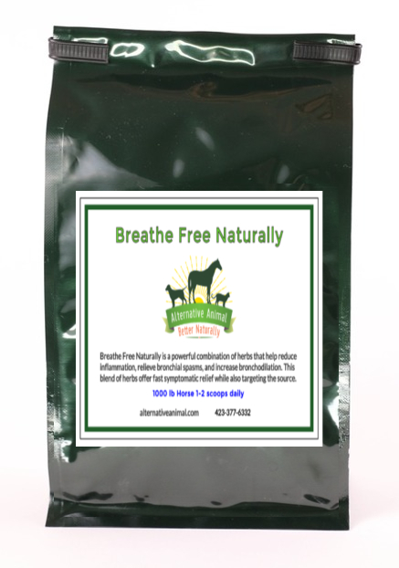 Breathe Free Naturally-Respiratory Support for Horses