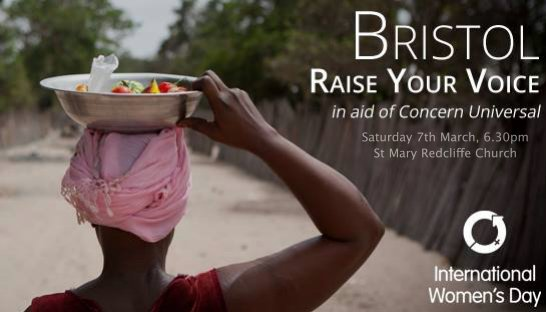 Raise Your Voice for International Women's Day at St Mary Redcliffe Church