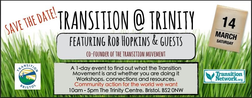 Transition @Trinity 14th March 2015!