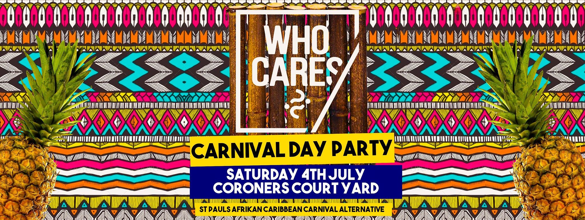 Who Cares Day Party - St Pauls Carnival Fundraiser