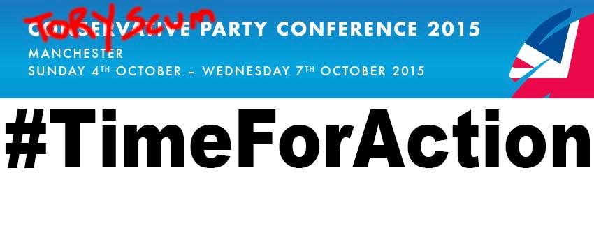 Occupy the Tory Conference