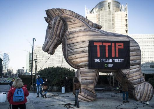 Rally to make Bristol a TTIP Free Zone