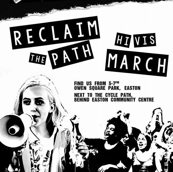 Reclaim the Cycle Path March