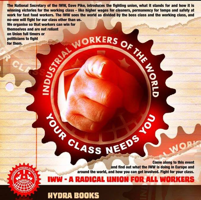 IWW National Speaking Tour 'Your Class Needs You'