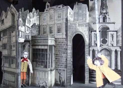 Escape was on Everyone's Mind – The Tale of Jack Sheppard.  A paper theatre show by Otherstory