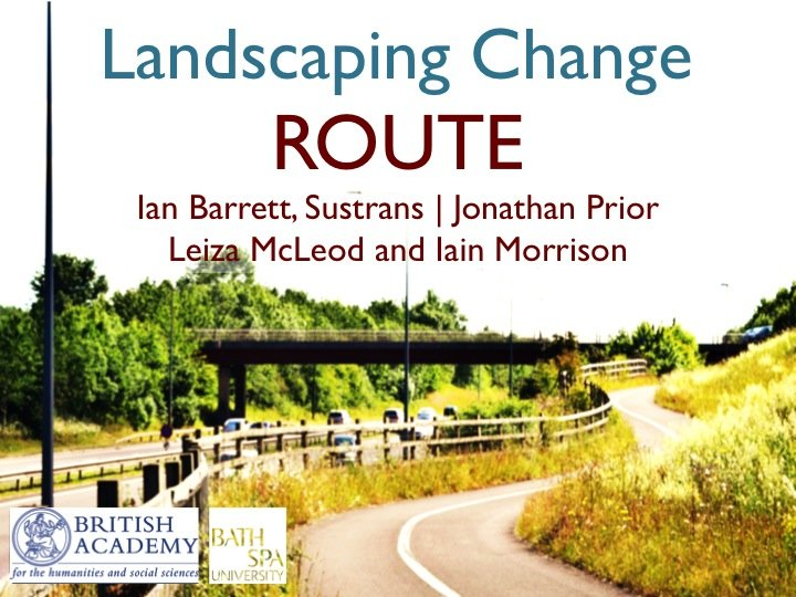 Landscaping Change: Route