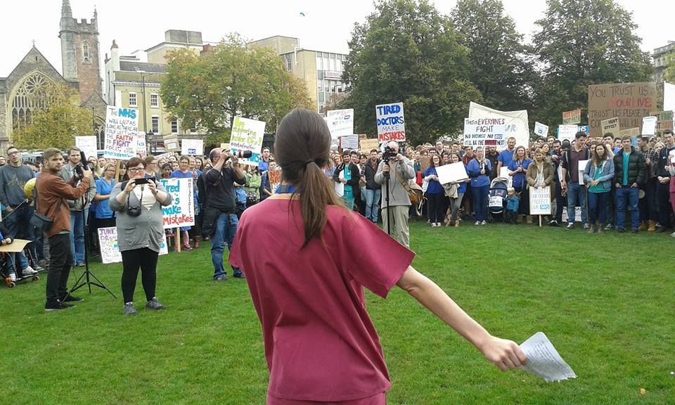 Support the Junior Doctors' Strike Rally