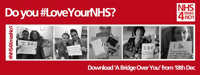 GET THE NHS TO NUMBER ONE THIS CHRISTMAS
