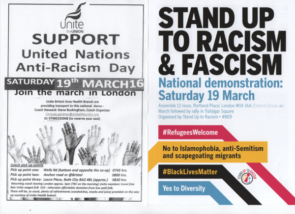 Stand Up to Racism Rally
