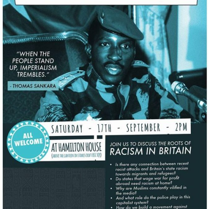 Talk/discussion: How can we build a movement against racism?