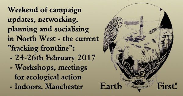 Bristol goes to EarthFirst winter gathering in Manchester