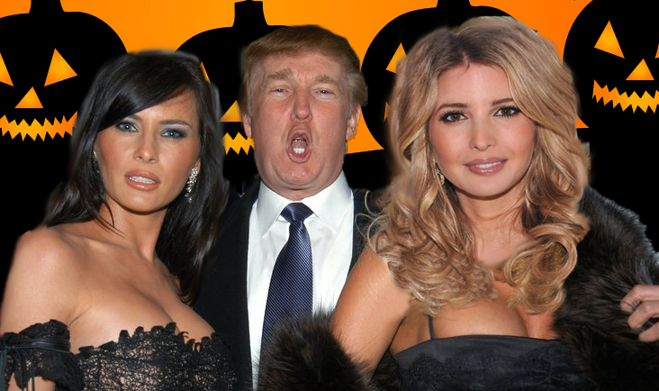 Ivanka Trumps Costume For White House Halloween Party Is Sexy