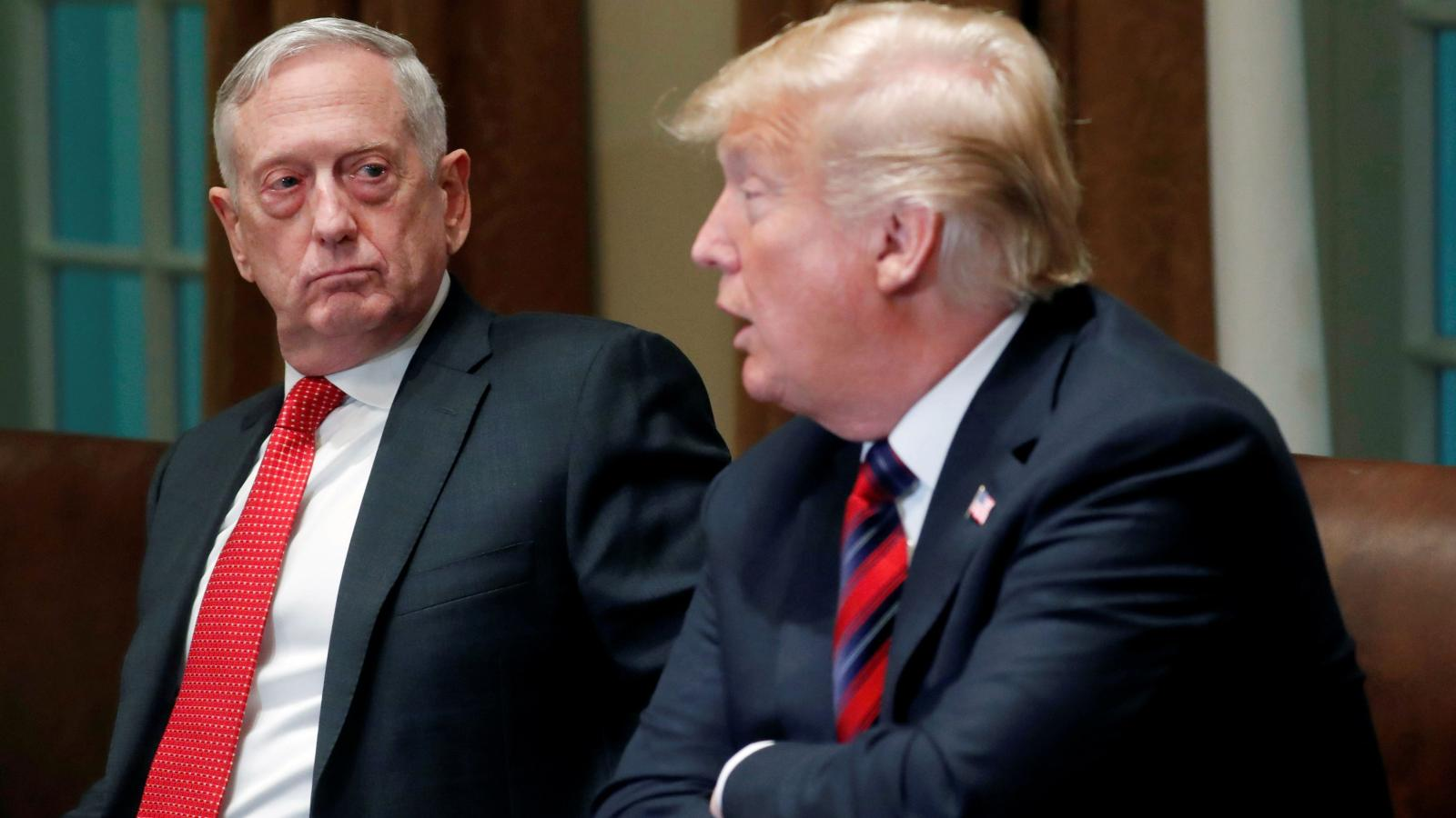 Trump Threatens to Throw His Bone Spurs at Mattis