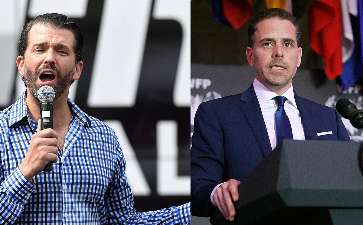 Don Jr Mocks Hunter Biden For Having a Dad Who Loves and Cares About Him