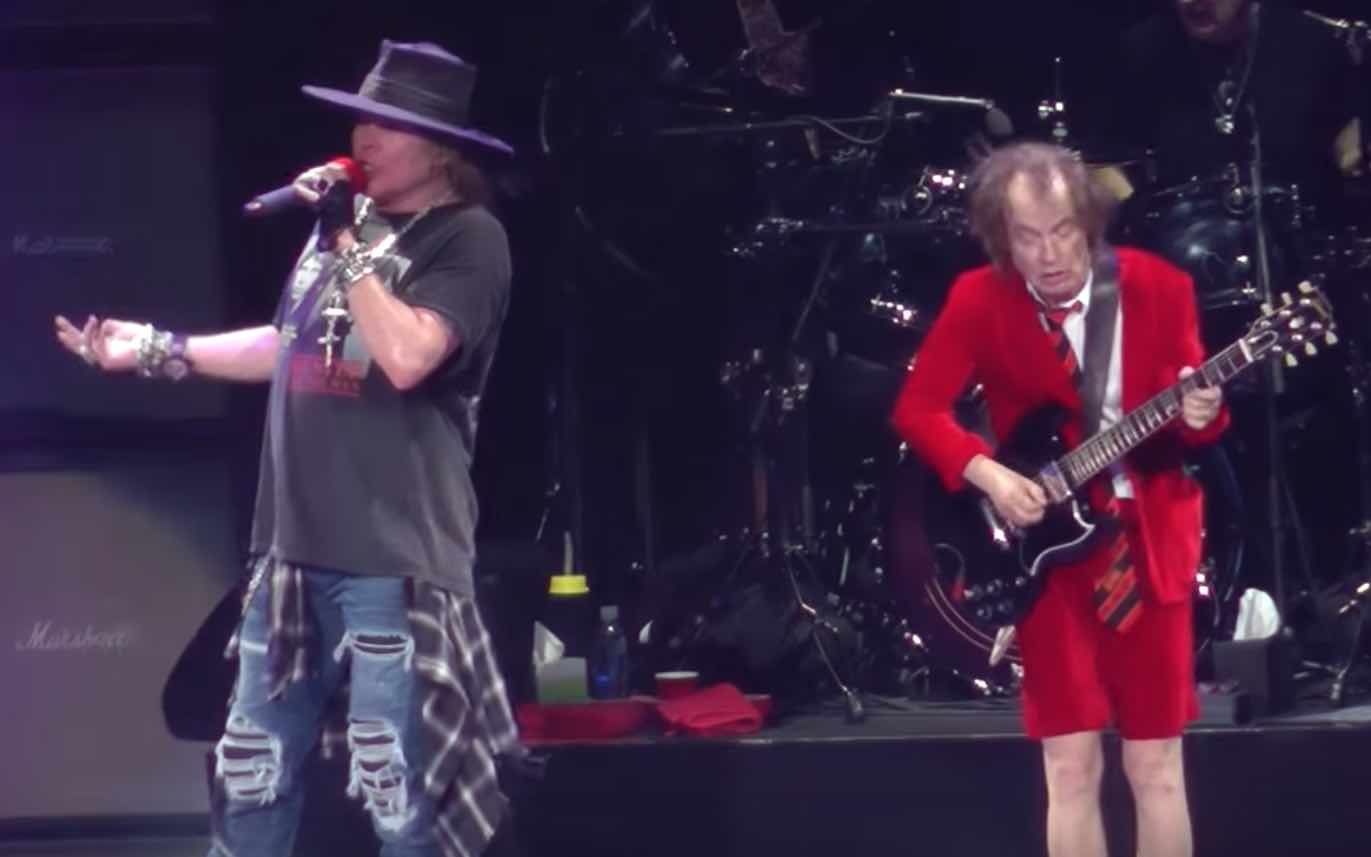 angus young rumored to