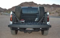 Rogue Racing Raptor/F150 Two Tire Carrier w/ Bed Braces