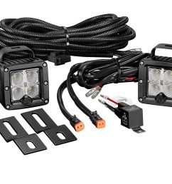 home lighting rear lights kc hilites 519 c series c2 led pair backup flood system clear [ 2400 x 1456 Pixel ]