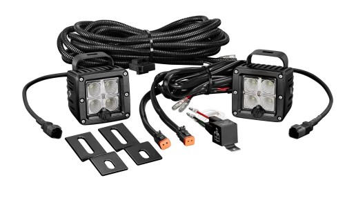 small resolution of home lighting rear lights kc hilites 519 c series c2 led pair backup flood system clear