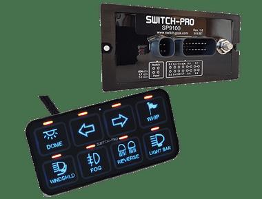 Switch Pros SP 9100 Switch Panel Bluetooth Power System