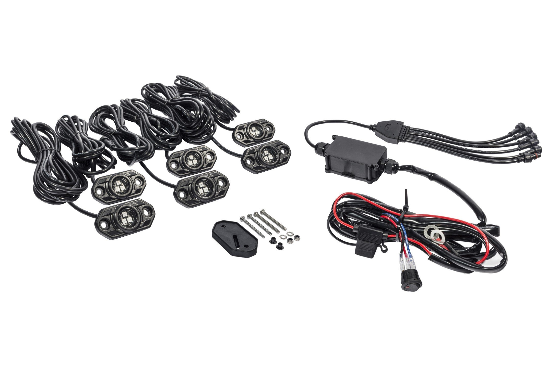 Kc Hilites C Series Rgb Led Rock Light Kit