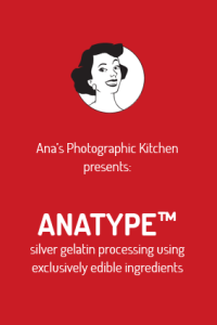 Anatype a photographic cooking kit without harmful chemicals