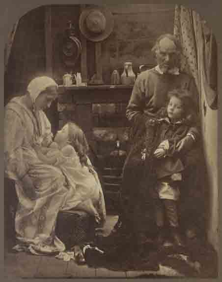 Print by Julia Margaret Cameron