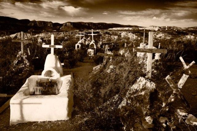 Terlingua Cemetery by David Kachel
