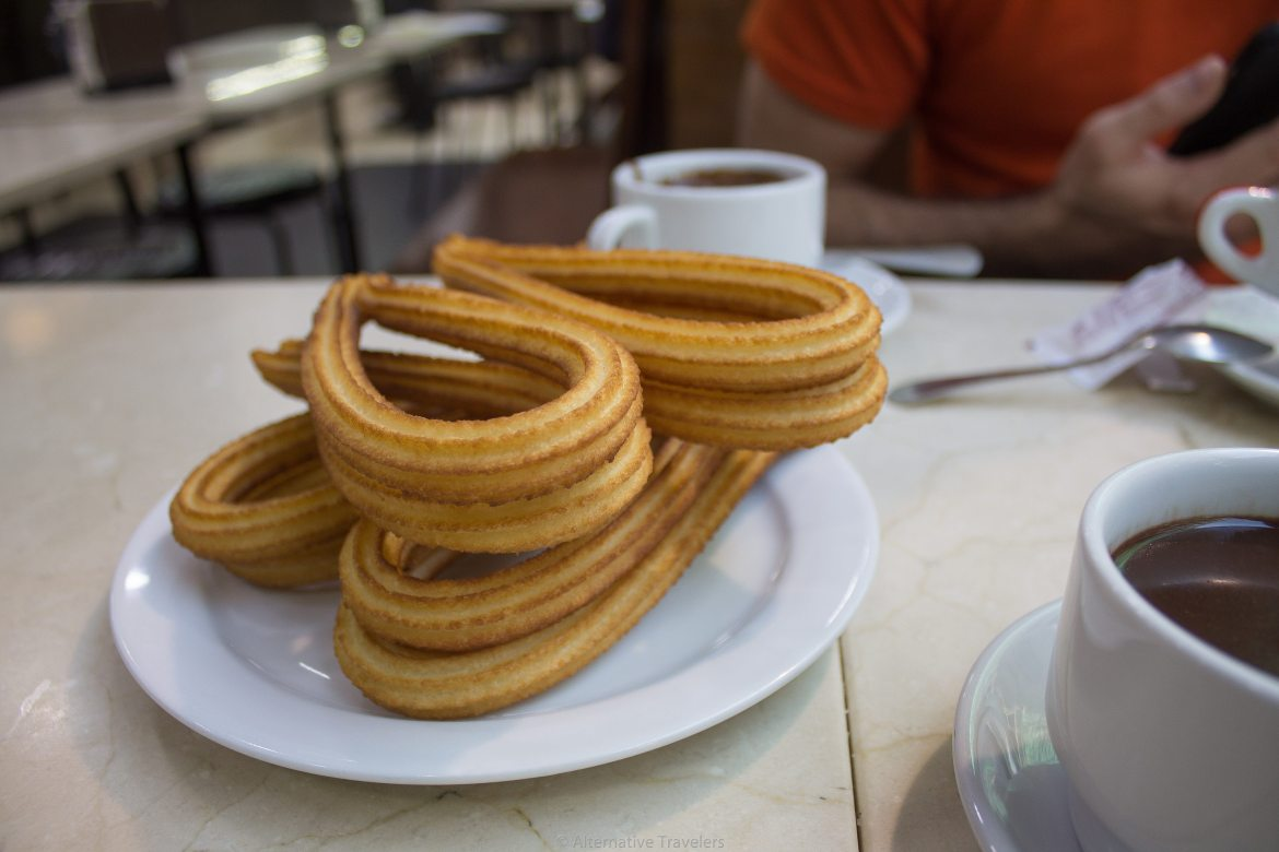 Vegan Churros in Madrid | AlternativeTravelers.com