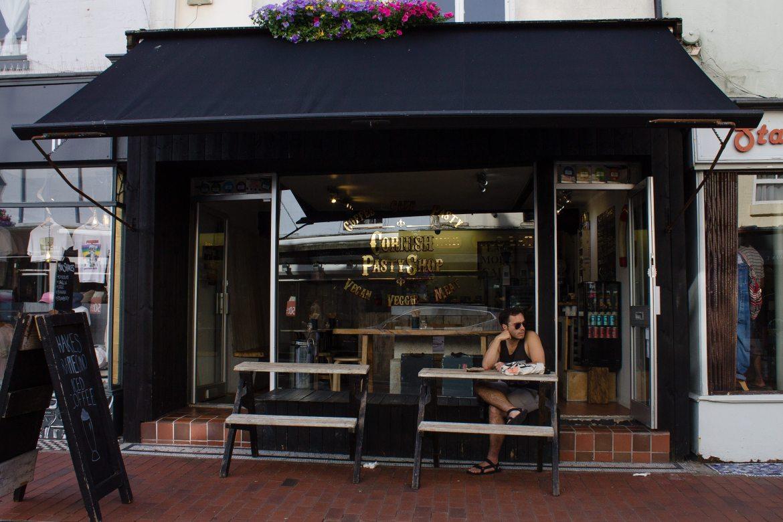 The Cornish Pasty Shop in Brighton, UK