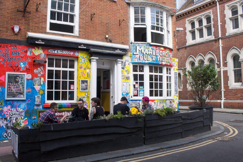 Marlborough Pub in Brighton